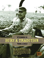 Bury a Tradition Poster