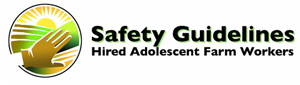 Safety Guidelines for Hired Adolescent Farm Workers (SaGHAF) Logo